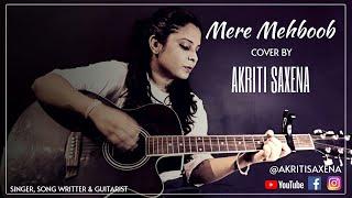 Mere Mehboob Qayamat Hogi   Mr. X in Bombay   kishore kumar   Old song   Guitar cover