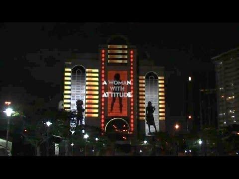 LCI  Baileys Lagos, Nigeria Projection Advertising