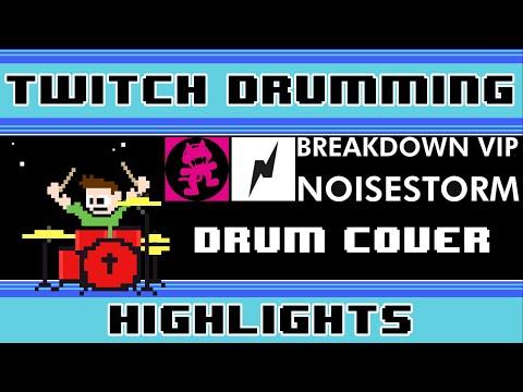 Noisestorm - Breakdown [VIP] (Drum Cover) -- The8BitDrummer