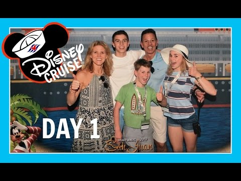 DISNEY CRUISE VACATION | DAY 1: ARRIVAL IN PUERTO RICO | Flippin' Katie