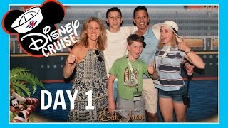 DISNEY CRUISE VACATION | DAY 1: ARRIVAL IN PUERTO RICO | Flippin