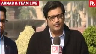 Arnab Goswami On Cross Border Operation By Indian Army