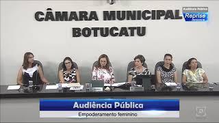 Audiência Pública 06/03/2018 - Empoderamento Feminino