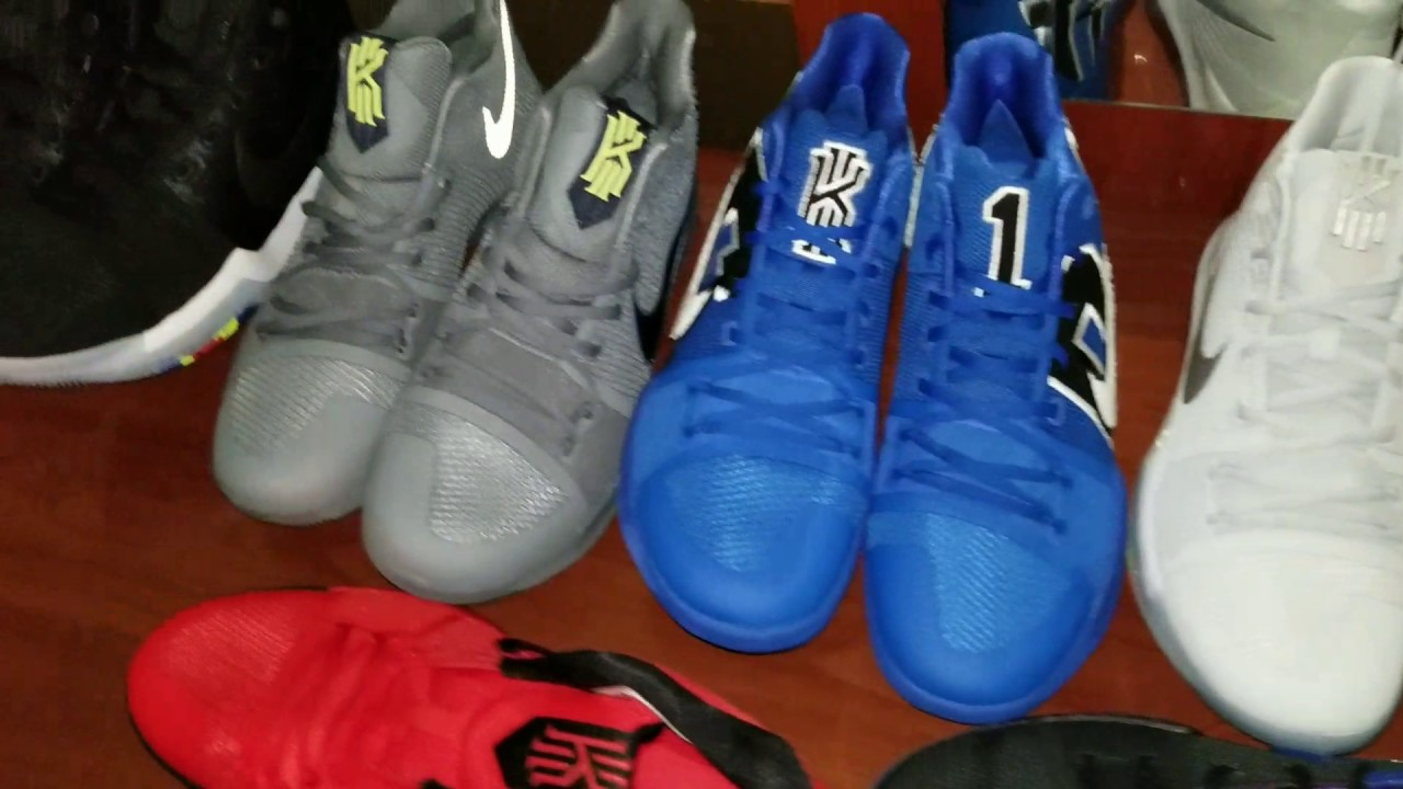 Kyrie 3 Collection - YouTube 346e2e6e3