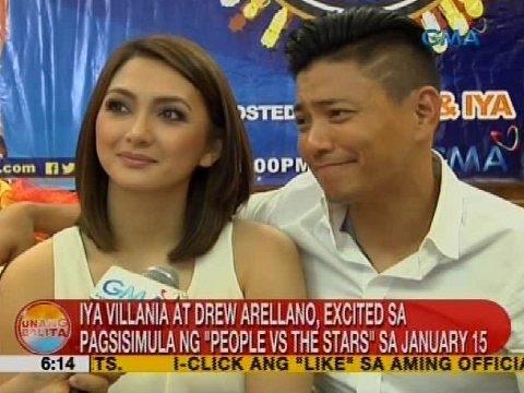 Iya Villania at Drew Arellano, excited sa pagsisimula ng 'People vs The Stars' sa January 15