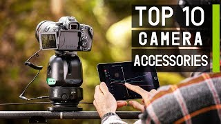 TOP 10 Camera Gadgets for Film Makers & Video Creators 2019