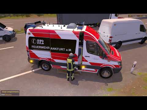Emergency Call 112 - Frankfurt Firefighters Responding! 4K
