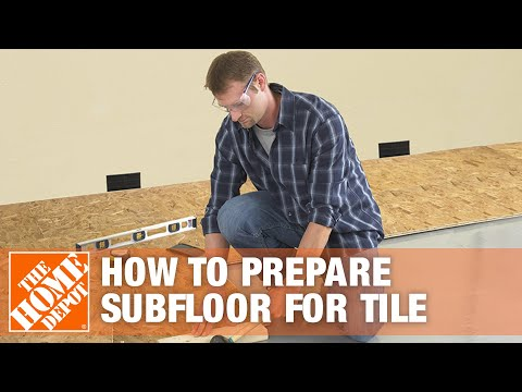 Preparing Subfloor For Tile | The Home Depot