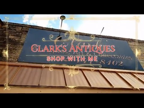 Shop With Me At Clark's Antiques in Havelock NC- Antique-Home Decor