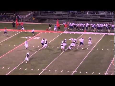 Tanner Stine  WDM Valley Football  QB Highlights