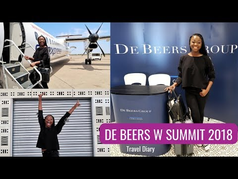Travel Diaries: De Beers W Summit in Botswana | Afua Osei