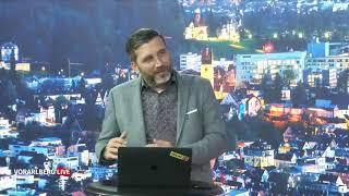 Vorarlberg LIVE mit WKV Direktor Christoph Jenny