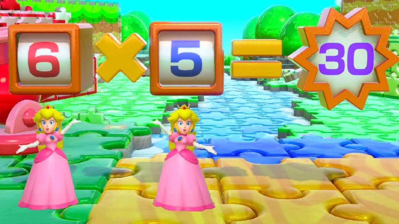 Mario Party Series - Peach Wins by Outsmarting Everyone