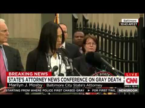 Prosecutor: 'Probable Cause' to Believe Freddie Gray's Death a Homicide