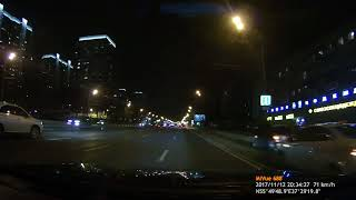 Mio MiVue 688. Ночная съёмка.