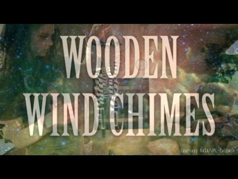 HOW TO MAKE WOODEN WIND CHIMES!