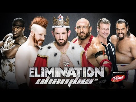 WWE 2K15 Elimination Chamber - Intercontinental Title Elimination Chamber Match