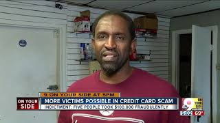 More victims possible in credit card scam