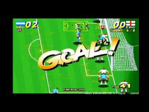 Seibu Cup Soccer 1CC  Team Argentina Not MAME