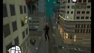 CJ - Spider Man GTA SA