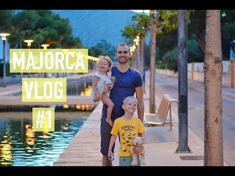 OUR HOLIDAY TO ALCUDIA, MAJORCA #1 – FAMILY TRAVEL VLOG