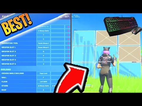 BEST Keybinds For Switching To Keyboard And Mouse In Fortnite! (PC SETTINGS/KEYBINDS Guide)
