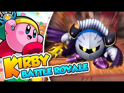 ¡Acepto el duelo Meta Knight! - #05 - Kirby Battle Royale en Español (3DS) DSimphony