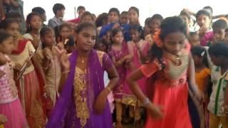 Anitha Dance Performance During 8th Class Farewell