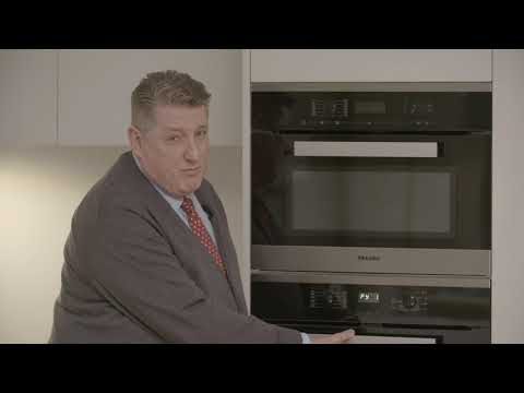 How to use the self cleaning function on your Miele Oven