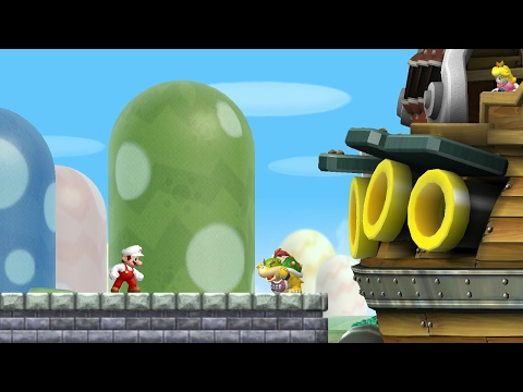 New Super Mario Bros. Wii - World 1 (Complete)