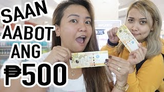 500 PESO MAKEUP CHALLENGE WITH MAE LAYUG!