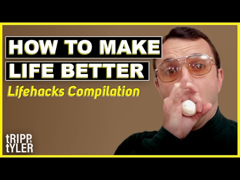 Make Your Life Better By Watching This Hilarious Life Hack Video