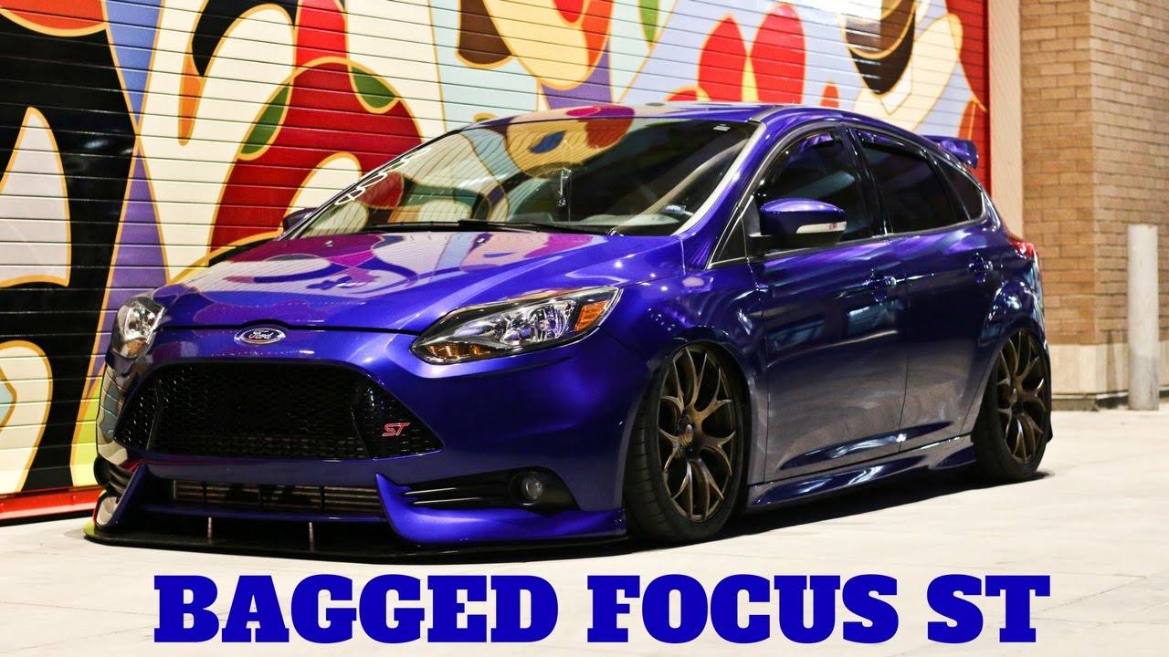 bagged ford focus st salt lake city utah youtube. Black Bedroom Furniture Sets. Home Design Ideas