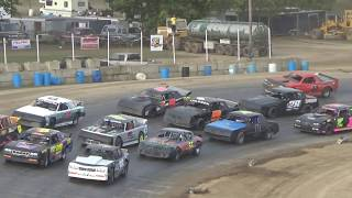 Street Stock Feature at Crystal Motor Speedway, Michigan on 09-17-2017!!