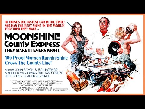 Moonshine County Express 1977 VHS   Color  1:54 mins