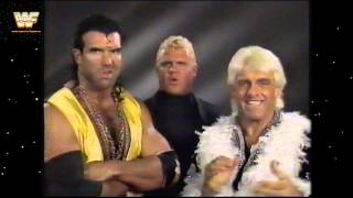 Ultimate Maniacs and  Ric Flair/Razor Ramon Promos