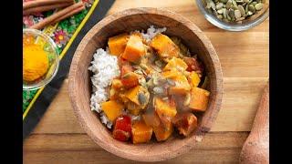 Vegan Sweet Potato Curry I The Buddhist Chef