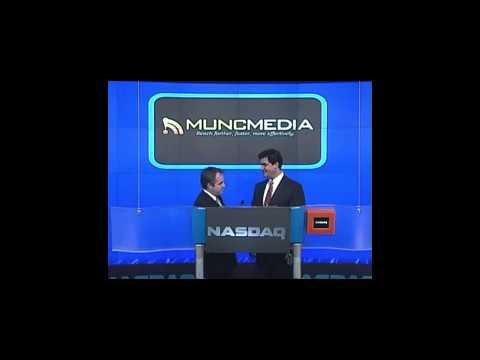 Matt Bird NASDAQ Press Conference Closing Bell MUNCmedia - Sept-21 2009