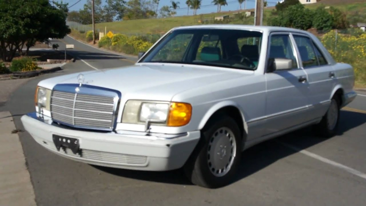 1990 mercedes benz 300se w126 2 owner 86k orig mi youtube