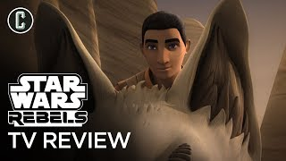 """Star Wars Rebels Review - Season 4 Episode 12 """"Wolves and a Door"""""""