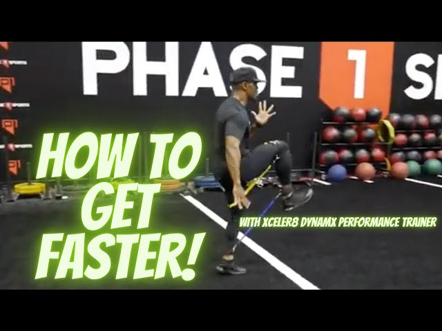 How To Get Faster | Speed Training | Xceler8 Dynamx Performance Trainer | Phase 1 Sports |