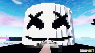 MARSHMELLO ALONE FULL SONG IN FORTNITE CREATIVE USING MUSIC BLOCKS! (CODE IN DESCRIPTION)