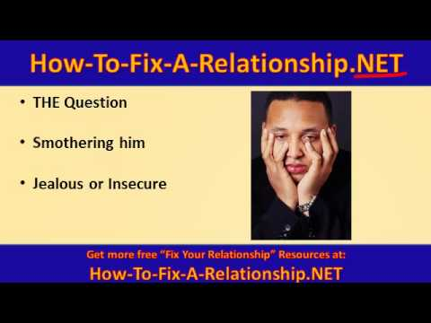 To Relationship How Fix A Smothered