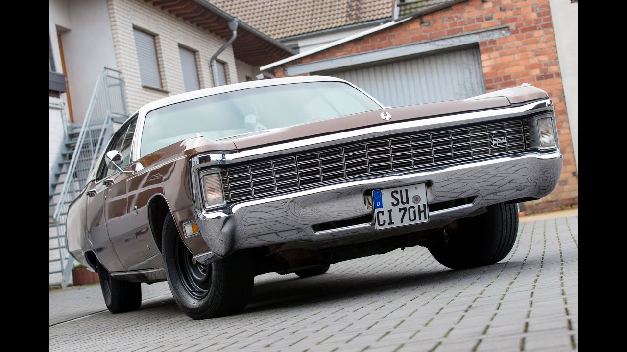 2016 Chrysler Imperial >> [Aufbereitung] Imperial LeBaron 1970 (Chrysler) - YouTube