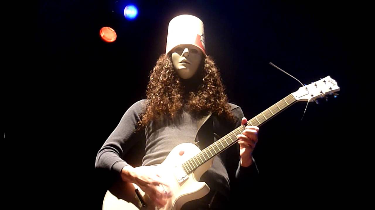 the career of musical virtuoso buckethead The masked virtuoso guitarist known as buckethead brought his unique brand of live performance to the music box in little italy on june 21 wearing all black clothing with an emotionless white mask covering his face and a plain white fast-food-style bucket on his head, the insanely talented musician tore through a 90-minute set of intense solo guitar featuring a wide variety of genres and.