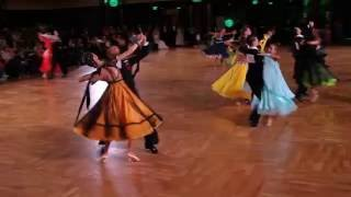 All On Viennese Waltz At Emerald Ball 2016