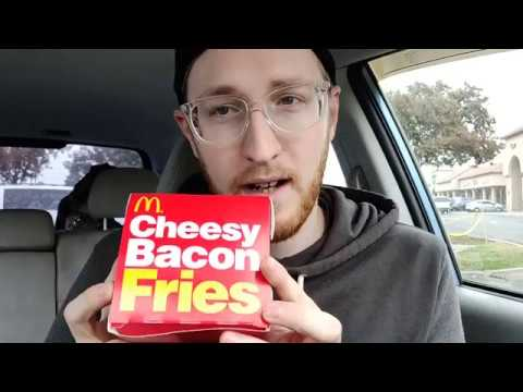 Mcdonalds Cheesy Bacon Fries Connoisseur Of Perfunctory Provisions