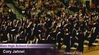 BSDN Live - Blair High School Commencement - Class of 2019