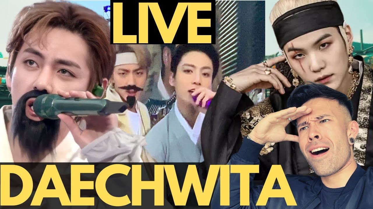 BTS - DAECHWITA LIVE REACTION 2021 Muster Sowoozoo Concert - THIS IS AWESOME !!!