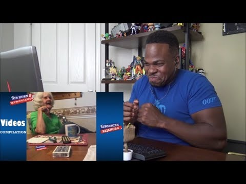 TRY NOT TO LAUGH - AIR HORN #8 Compilation 2018 - REACTION!!!